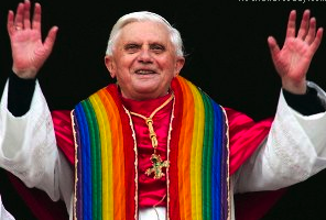 In Rare Burst Of Sanity, Pope Now Lovin' Evil Gay Oscar Wilde And Evil Wizard Harry Potter