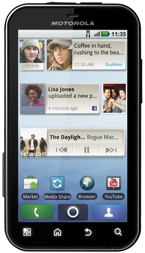 An Outdoorsy Phone Running Android: Motorola Defy