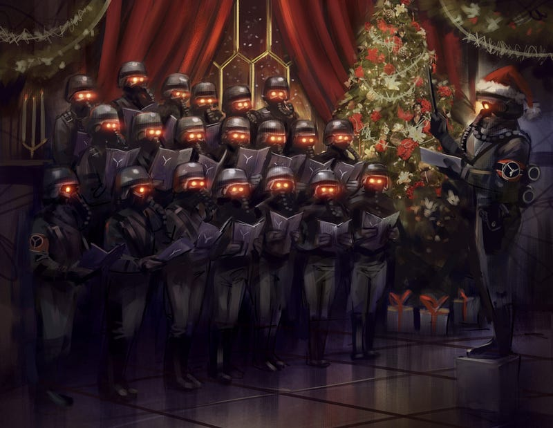 Who Says The Helghast Can't Be Festive?