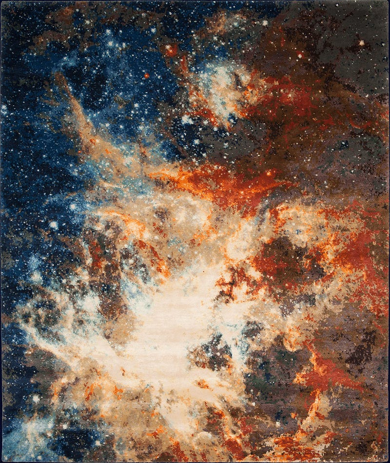 Skywalk Through Outer Space With These Celestial Carpets