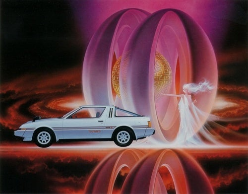The Psychedelic Car Art of Shusei Nagaoka