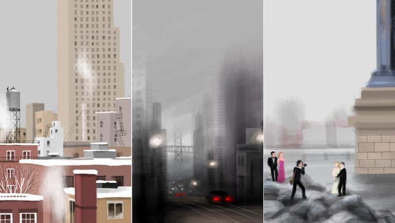 The Amazing New York Paintings Made on an iPhone