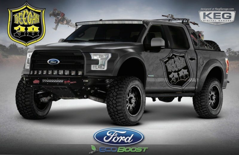 There's No 2015 Ford F-150 Raptor, Here's How To Build Your Own For $