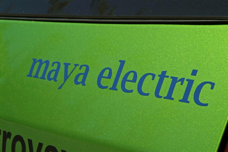 Maya 300: The Electric Car ExxonMobil Wants You To Drive