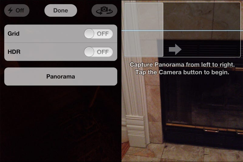 There Is a Secret Panorama Mode Hidden In the iPhone's Camera