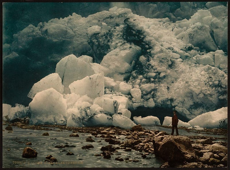 Dream-like nature photography from the 1890s