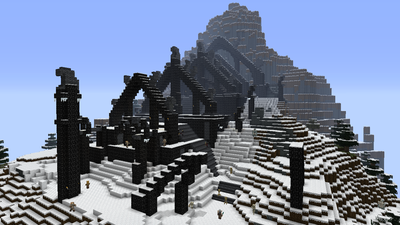 Minecraft Gets An Official Skyrim Make Over