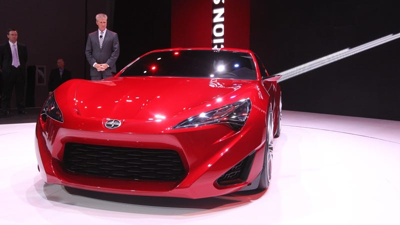 Scion FR-S Concept is so hot we can taste it
