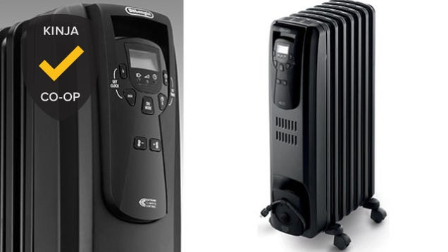 Most Popular Space Heater: DeLonghi Oil-Filled