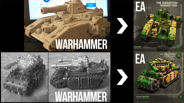 Has EA Been Caught Stealing Designs From a Tabletop Game?