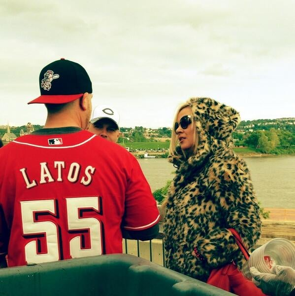 Dallas Latos Attacked By Pirates Fan At PNC Park