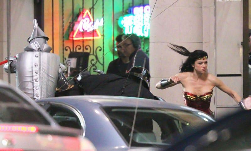 Wonder Woman Vs. the Tin Man and Darth Vader