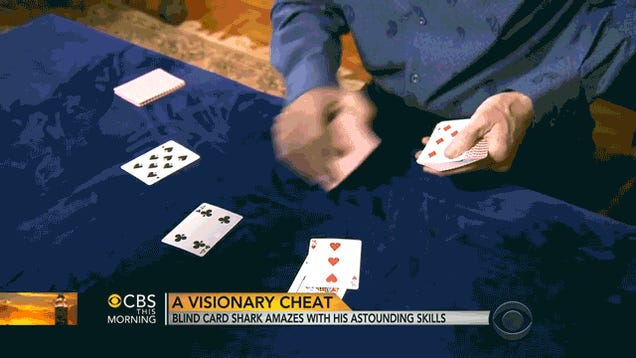 Blind Card Shark Masterfully Cheats Like No Other