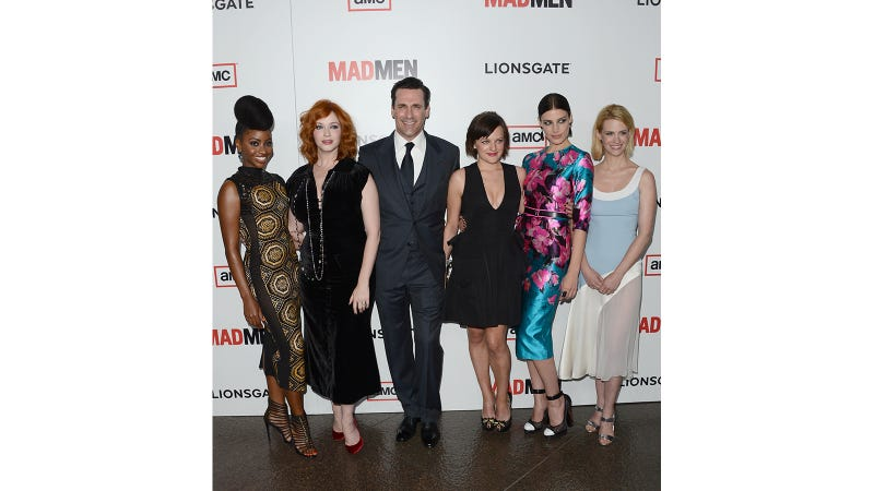 Really Pretty Dresses and Really Bad Hair at the Mad Men Premiere