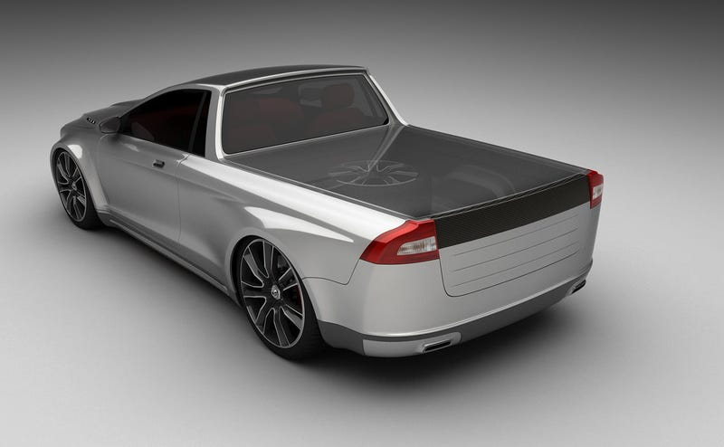 El Caminoed Volvo V70 Warps And Teases Our Mangled Minds