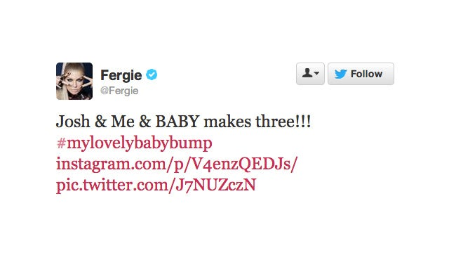 Fergie and Josh Duhamel Are Expecting a Little Black Eyed Pea