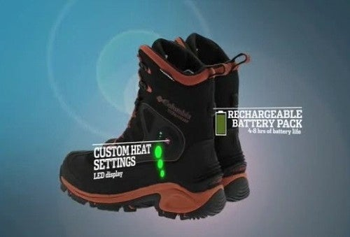 Columbia Bugathermo Boots Use Rechargeable Batteries to Keep Your Feet Toasty