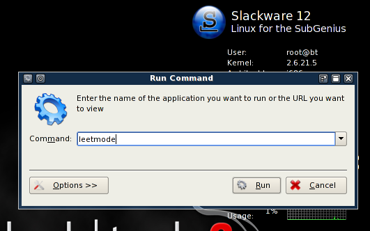 BackTrack is a Security-Focused Live CD Packed With System Tools