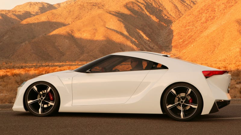 The Toyota FT-HS Is The Hybrid Supra That Sort Of Became A Reality