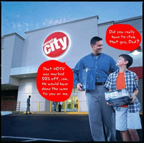 Liquidation Overlords, Utter Chaos Have Taken Over Circuit City