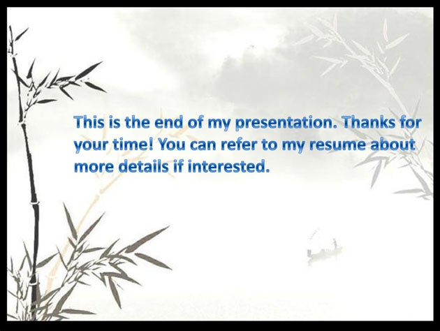 Embarrassing PowerPoint Résumé Actually Works