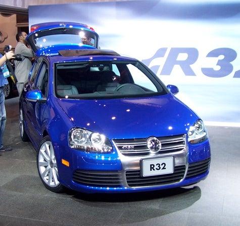 Chicago Auto Show: US-Bound Volkswagen R32