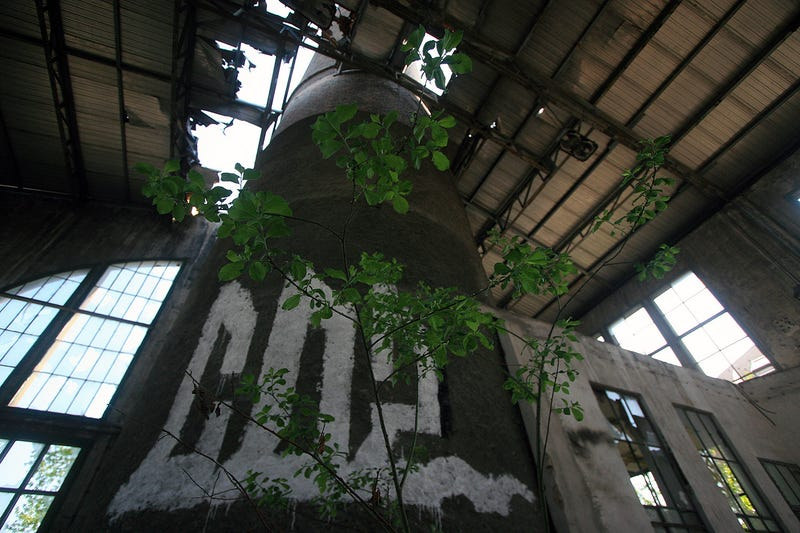 Inside an Abandoned Soviet Textile Factory
