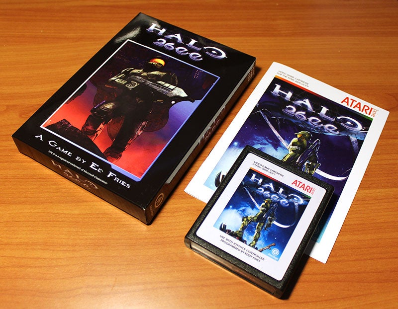 Play Halo's Atari 2600 'Port' With This Cartridge Now On Sale