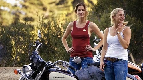Battlestar Galactica's Smoking Hot Motorcycle Babes