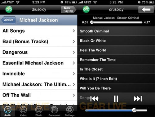 Stream Zune Songs to Your iPhone