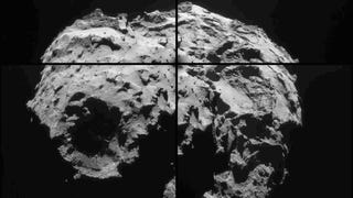 Take A Virtual Trip Around Rosetta's Oddly Shaped Comet