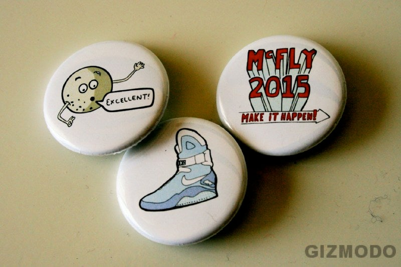 McFly 2015 Stickers and Pins