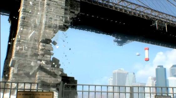 Evil 8-Bit Forces Destroy New York