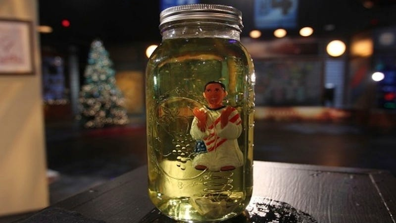 Glenn Beck Put an Obama Toy in a Jar Filled With Fake Urine, Plans to Sell It for $25,000
