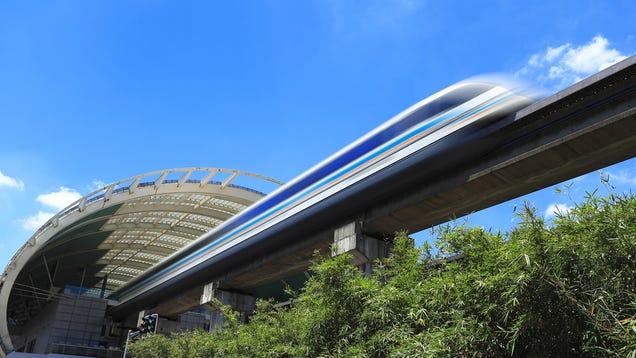 Japan Tests Its New 500kmph Maglev Train