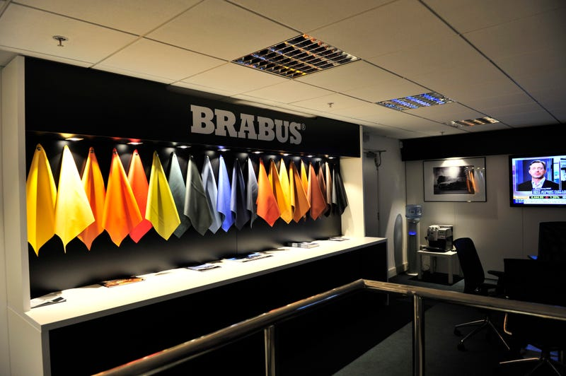 You'll Probably Get Kicked Out Of The New Brabus Store In London