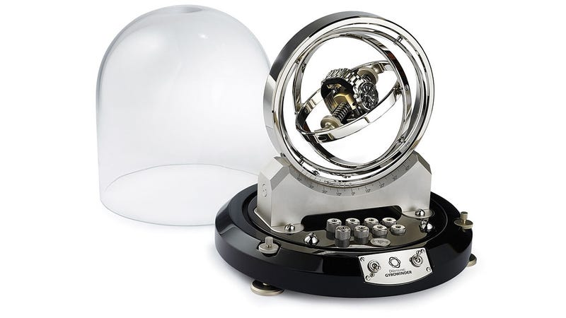 A Watch Winder That Possibly Sends Your Timepiece Through a Worm Hole