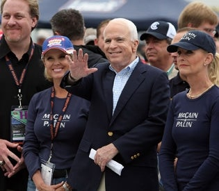 Curt Schilling Puts the Moves on Cindy McCain?