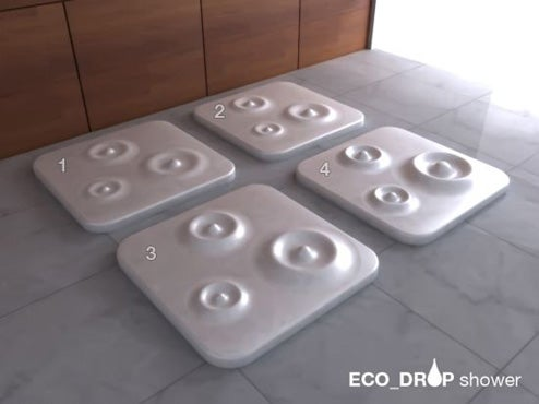 Eco Drop Shower Gives You the Boot For Wasting Water
