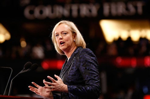 Meg Whitman Now More Retired from eBay Than Ever