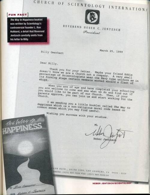 Pranking Scientology