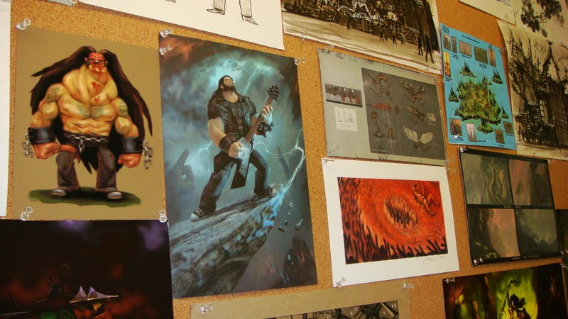 The Brutal Art of Brutal Legend