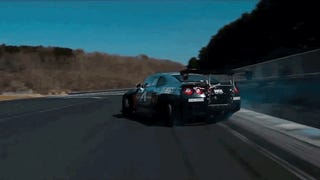This Is A 1000 Horsepower Nissan GT-R Drift Car
