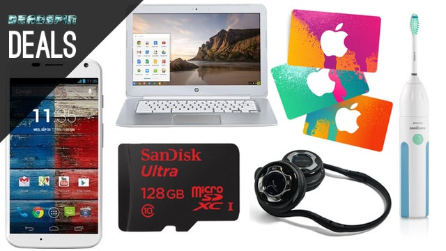 Sonicare Coupon, Bluetooth Headphones, iTunes Cash, $5 Amazon Credit