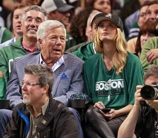 "Bob Kraft's New ""Pal"" Is A 32-Year-Old Occasional Actress"