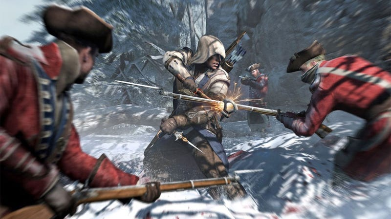 Assassin's Creed III Features 4-Player Co-op?
