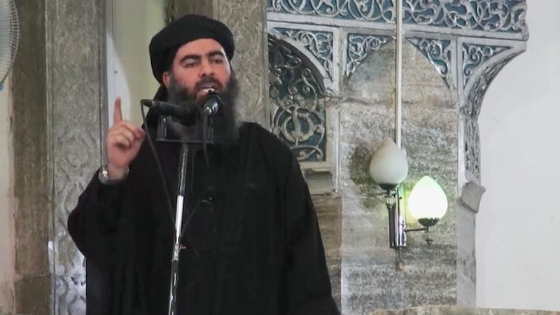 Video Purportedly Shows First Public Appearance of ISIS Leader in Iraq