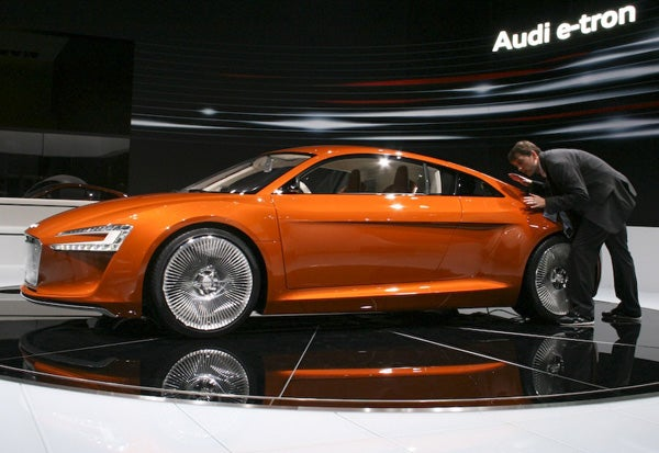 Audi's first electric car reaches U.S. market early 2013