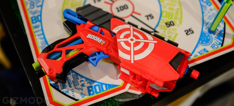 This Full-Auto Dart Blaster Is a Science-Fueled Dream Gun