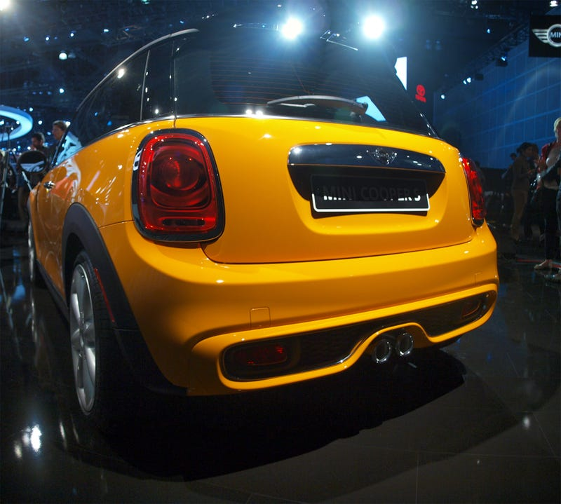 The 2015 Mini Cooper Is Actually Heavier Than The Old One